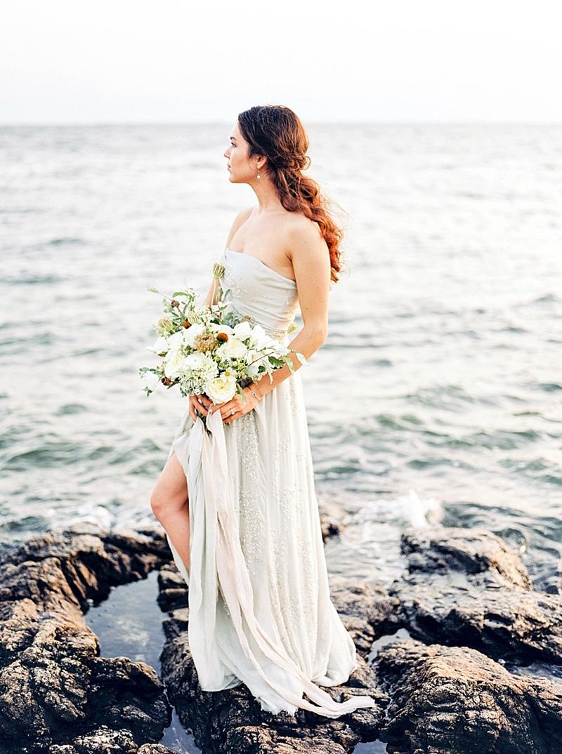 new england wedding photographer oceanside elopement